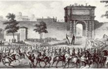 L'epoca napoleonica e la Restaurazione